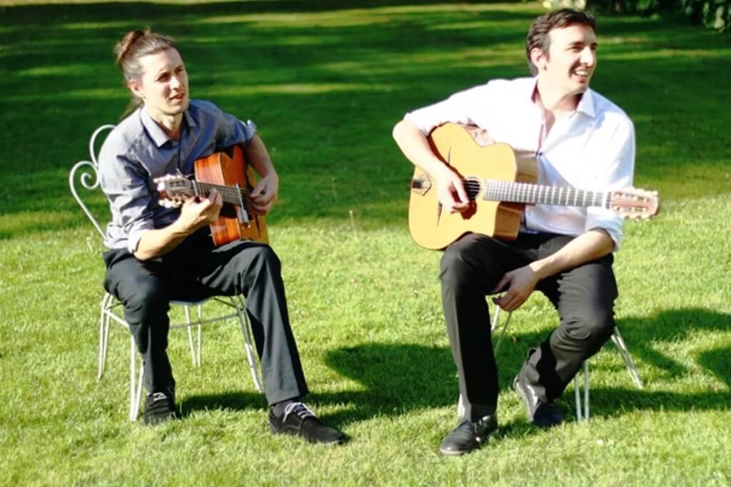 Duo de jazz manouche pour concert