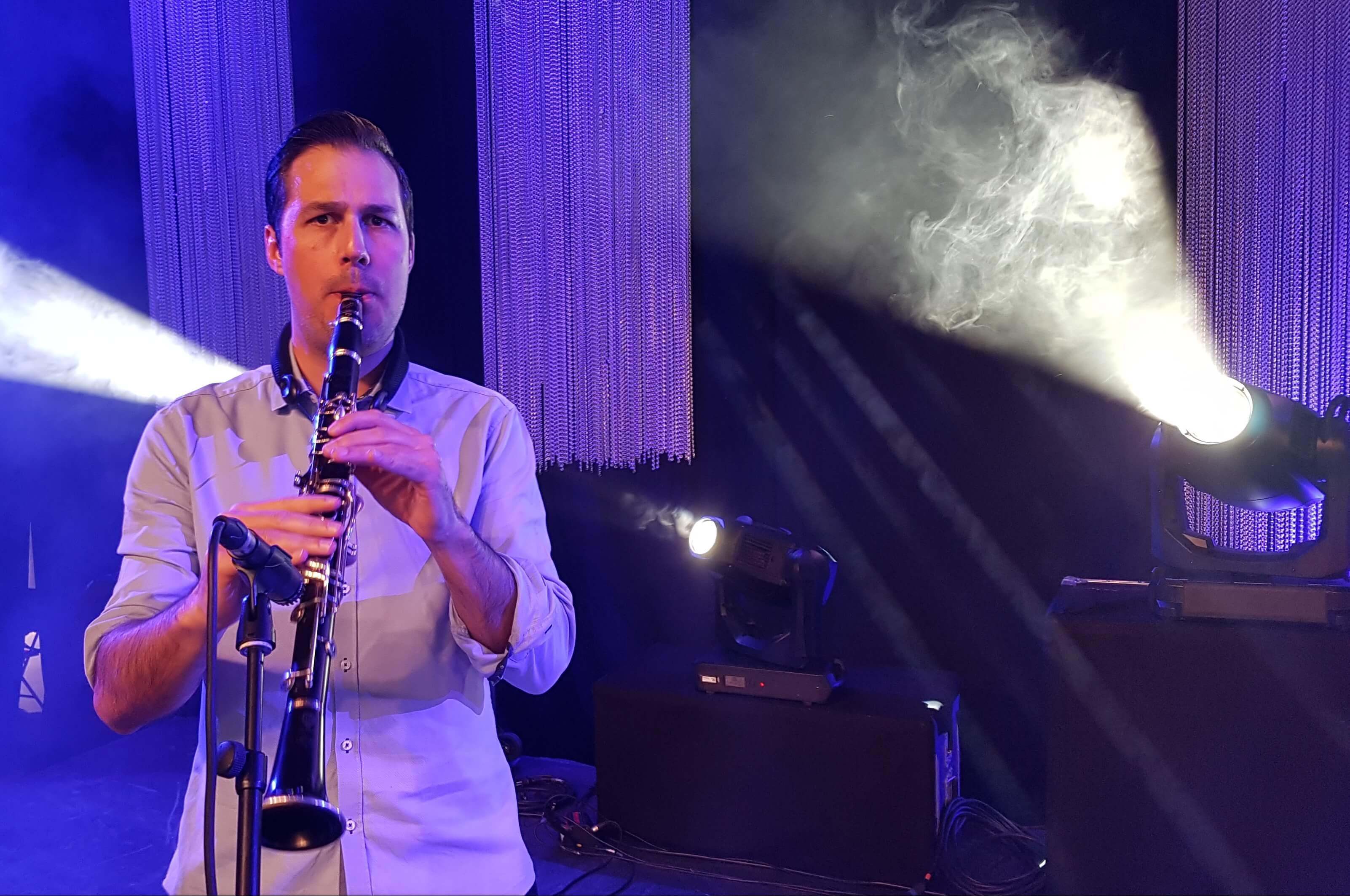 Clarinettiste pour concert jazz manouche