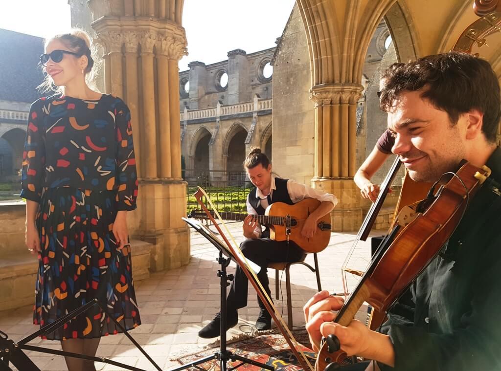 Jazz manouche à l'abbaye de Royaumont