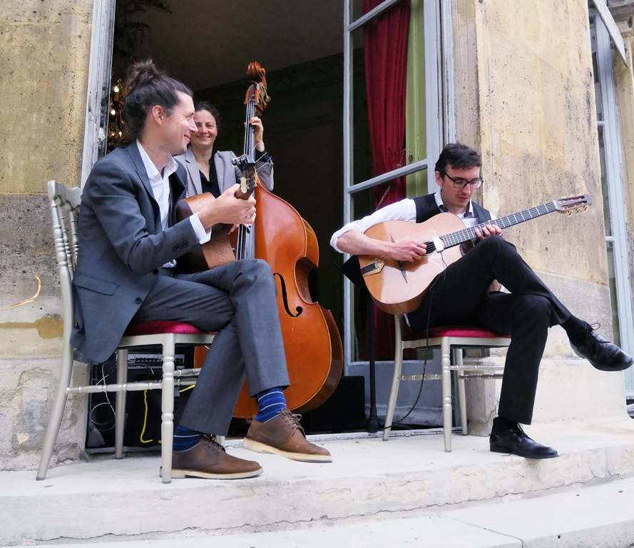 Comité d'entreprise – Groupe jazz manouche animation concert