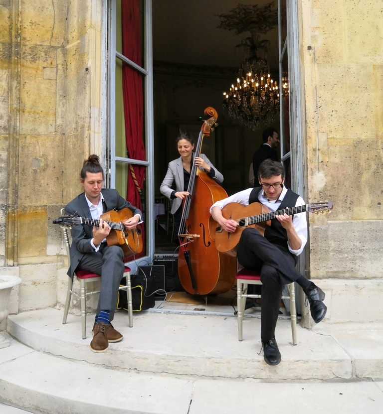 Organisation – Animation musicale mariage vin d'honneur jazz manouche